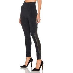 SPANX Perforated Panel Legging in Very Black